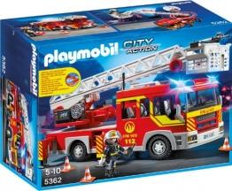 Playmobil Feuerwehr Leiterfahrzeug