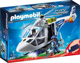 Playmobil Polizei Helikopter