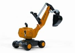 Rolly Toys 421008 Schaufelbagger Digger, voll funktionsfähiger Kunststoff Bagger (geeignet für Kinder von 3 - 5 Jahren; Farbe Gelb/Schwarz) -